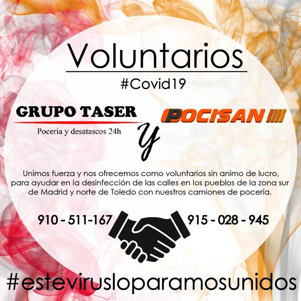 Voluntarios Cuarentena Coronavirus COVID19