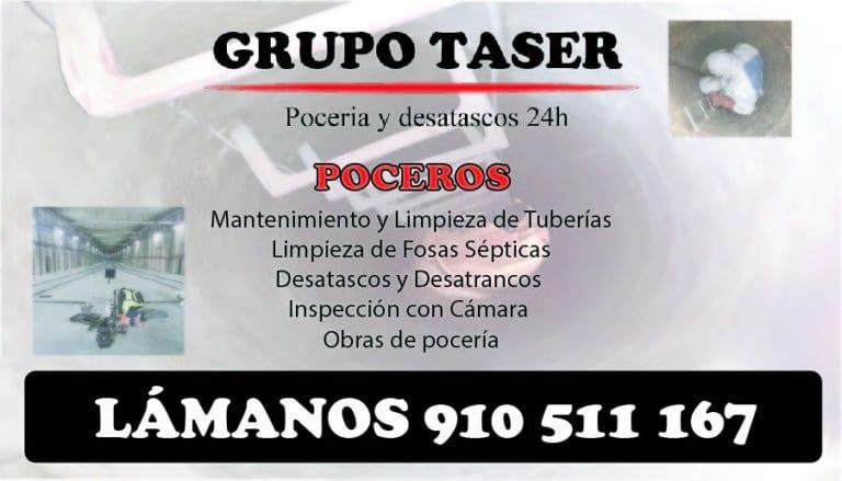 Poceros en Torrejón de la Calzada. Pocería y desatascos 24h